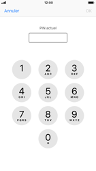 Apple iPhone 7 - iOS 12 - Securité - Modifier le code PIN de la carte SIM - Étape 6