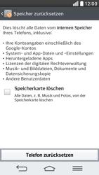 LG G2 mini - Fehlerbehebung - Handy zurücksetzen - 9 / 12