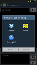 Samsung I9505 Galaxy S IV LTE - MMS - Sending pictures - Step 14