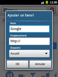 Samsung Galaxy Pocket - Internet et roaming de données - Navigation sur Internet - Étape 6