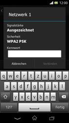 Sony Xperia L - WLAN - Manuelle Konfiguration - Schritt 7