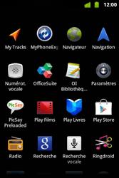 Alcatel OT-983 - Internet et roaming de données - Navigation sur Internet - Étape 4