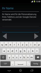 Sony Xperia Z1 - Apps - Konto anlegen und einrichten - Schritt 6