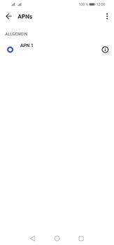 Huawei P30 Lite - Internet und Datenroaming - Manuelle Konfiguration - Schritt 7