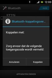 Sony ST23i Xperia Miro - bluetooth - headset, carkit verbinding - stap 7