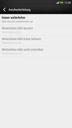 HTC One Max - Anrufe - Rufumleitungen setzen und löschen - Schritt 8