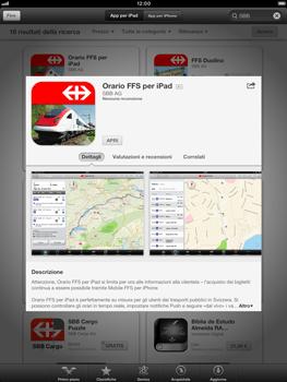 Apple iPad mini - Applicazioni - Installazione delle applicazioni - Fase 15