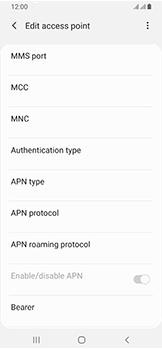 Samsung Galaxy A40 - Internet - Manual configuration - Step 16