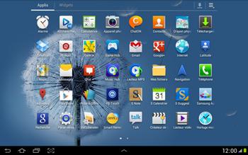 Samsung N8000 Galaxy Note 10-1 - E-mail - Configuration manuelle - Étape 3