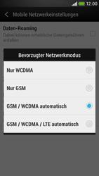 HTC Desire 601 - Netzwerk - Netzwerkeinstellungen ändern - Schritt 6