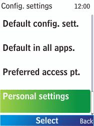 Nokia X2-00 - MMS - Manual configuration - Step 5