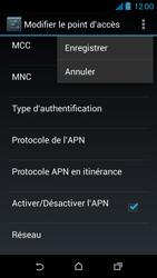 HTC Desire 310 - Internet - Configuration manuelle - Étape 17