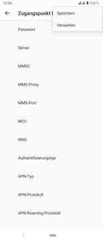 Sony Xperia 5 - Internet und Datenroaming - Manuelle Konfiguration - Schritt 18