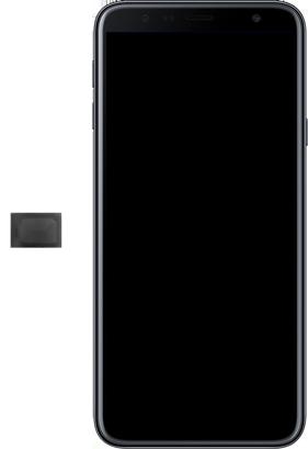 Samsung Galaxy J4+ - SIM-Karte - Einlegen - Schritt 4