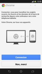 Sony Xpéria SP - Internet et connexion - Naviguer sur internet - Étape 5