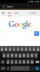 Alcatel One Touch Idol Mini - Internet und Datenroaming - Verwenden des Internets - Schritt 13