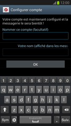 Samsung N7100 Galaxy Note II - E-mail - Configuration manuelle - Étape 14