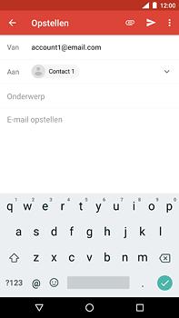 Nokia 6.1 - E-mail - hoe te versturen - Stap 7