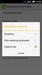 Alcatel Pop C7 - Internet e roaming dati - Disattivazione del roaming dati - Fase 7