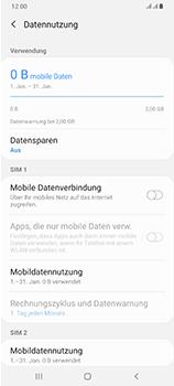 Samsung Galaxy A70 - Internet und Datenroaming - Prüfen, ob Datenkonnektivität aktiviert ist - Schritt 6