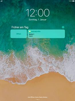 Apple iPad Pro 12.9 inch - iOS 11 - Sperrbildschirm und Benachrichtigungen - 7 / 9
