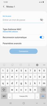 Samsung Galaxy S20 Ultra - Internet et connexion - Accéder au réseau Wi-Fi - Étape 8