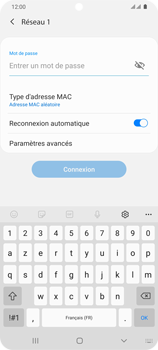 Samsung Galaxy S20 Ultra 5G - WiFi - Configuration du WiFi - Étape 8