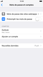 Apple iPhone 7 - iOS 12 - E-mail - 032c. Email wizard - Outlook - Étape 10