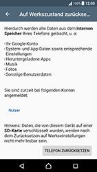 Sony F8131 Xperia X Performance - Fehlerbehebung - Handy zurücksetzen - Schritt 8