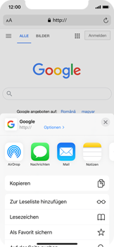 Apple iPhone X - iOS 14 - Internet und Datenroaming - Verwenden des Internets - Schritt 17