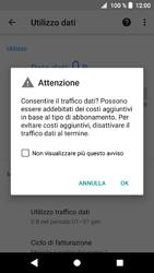 Sony Xperia XZ1 Compact - Internet e roaming dati - Come verificare se la connessione dati è abilitata - Fase 7