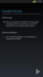 Samsung I9300 Galaxy S III - E-Mail - Konto einrichten (gmail) - Schritt 13