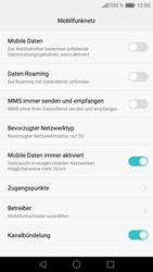 Huawei Huawei P9 - Internet und Datenroaming - Prüfen, ob Datenkonnektivität aktiviert ist - Schritt 6