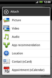 HTC A510e Wildfire S - MMS - Sending a picture message - Step 10