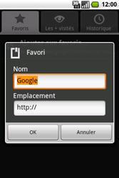 Samsung I7500 Galaxy - Internet - navigation sur Internet - Étape 9