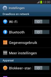 Samsung S6810P Galaxy Fame - internet - data uitzetten - stap 4