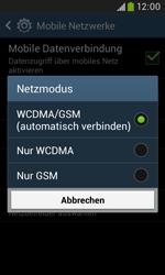 Samsung Galaxy Grand Neo - Netzwerk - Netzwerkeinstellungen ändern - 7 / 8