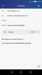 Huawei Y6 - E-Mail - E-Mail versenden - Schritt 15
