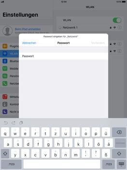 Apple ipad-pro-9-7-inch-mit-ios-11 - WLAN - Manuelle Konfiguration - Schritt 6