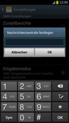 Samsung I9300 Galaxy S III - SMS - Manuelle Konfiguration - Schritt 5