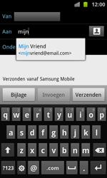 Samsung I8160 Galaxy Ace II - E-mail - E-mail versturen - Stap 6