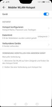 Huawei P20 Pro - Android Pie - WiFi - So aktivieren Sie einen WLAN-Hotspot - Schritt 14