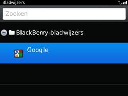 BlackBerry 9320 Curve - Internet - hoe te internetten - Stap 7