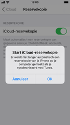Apple iphone-se-met-ios-13-model-a1723 - Instellingen aanpassen - Back-up maken in je account - Stap 11