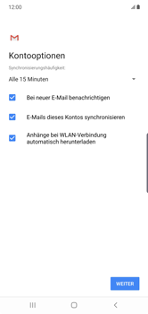 Samsung Galaxy Note 10 Plus 5G - E-Mail - Manuelle Konfiguration - Schritt 20