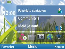 Nokia C3-00 - MMS - Afbeeldingen verzenden - Stap 1