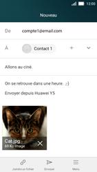 Huawei Y5 - E-mails - Envoyer un e-mail - Étape 15