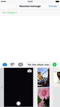 Apple Apple iPhone 6s Plus iOS 10 - MMS - afbeeldingen verzenden - Stap 9