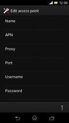 Sony C1905 Xperia M - Internet - Manual configuration - Step 11