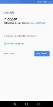 Huawei Mate 10 Pro - Applicaties - Account instellen - Stap 3
